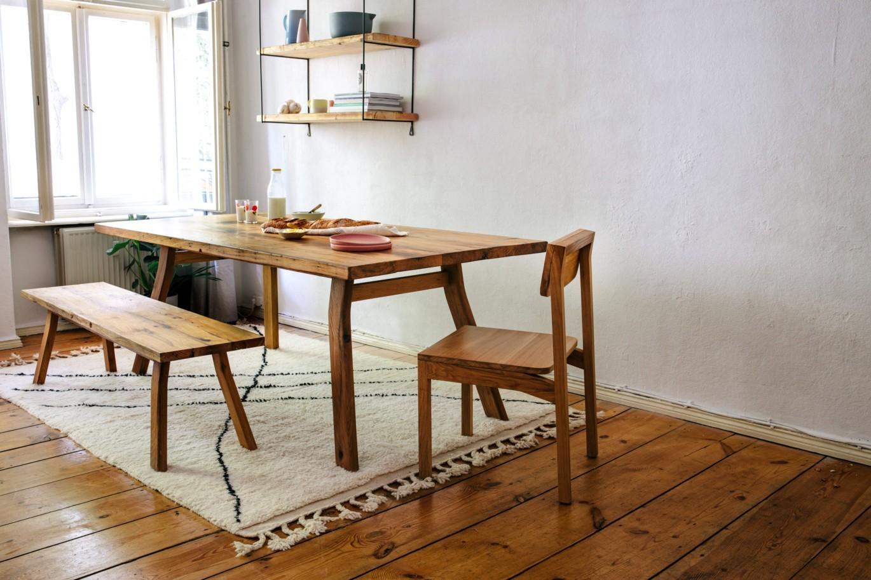smokey kent dining table