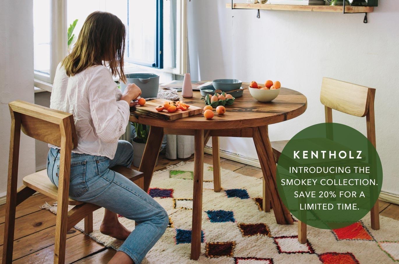 Smokey Kent Oak Table